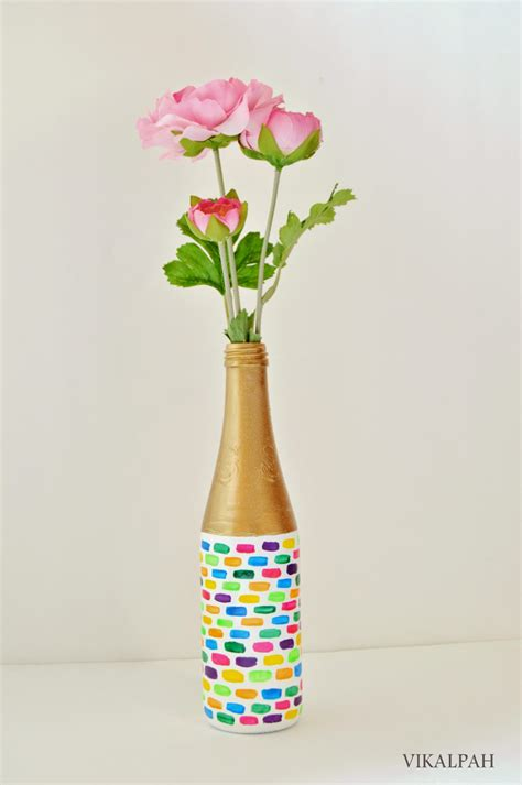Flower Vase At Home by Vikalpah Diy Flower Vase At Home An Upcycle Project