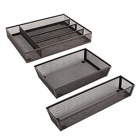 bed bath and beyond drawers kitchen drawer organizer collection in bronze bed bath