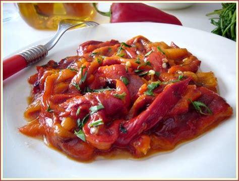 cuisine poivron mezze de poivrons rouges du sel dans ma cuisine