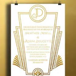 best gatsby invitations products on wanelo