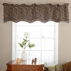 Modern Kitchen Curtains And Valances Ellis Curtain Tremblay Bradford Valance Modern Curtains By Hayneedle