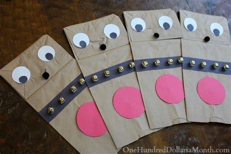 How To Make Paper Reindeer - easy crafts for paper bag reindeer