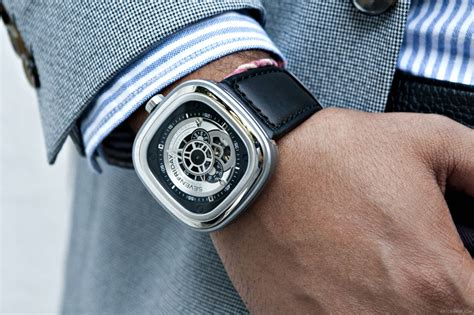 Seven Friday 8714 Leather 2 p1 and p2 watches by sevenfriday