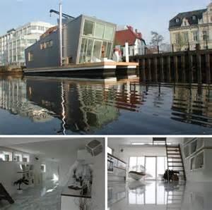 modern houseboat design for sea worthy luxury living