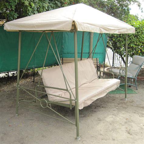 courtyard creations swing walmart courtyard creations rus472w replacement cushion