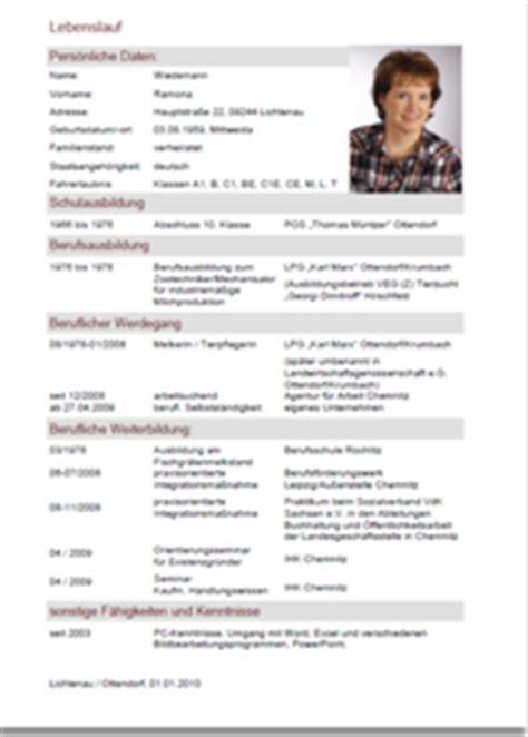 Vorlage Qualifizierter Lebenslauf Beispiel Profil F 252 R Lebenslauf 9cb54c197