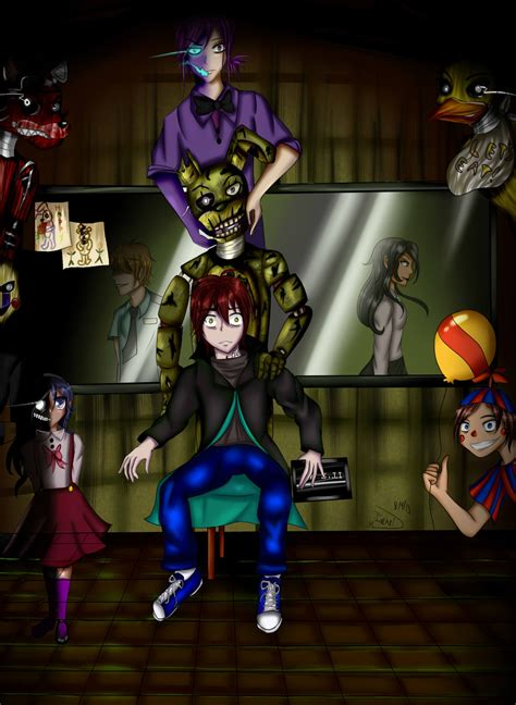 A Day S Fright fazbear s fright cover for contest by gothamgirldc on