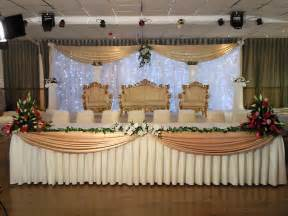 Bride And Groom Chair Covers Top Table Decor Fusion Decor