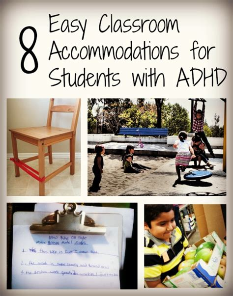 working around adhd how to take one obstacle at a time books 8 easy classroom accommodations for students with adhd