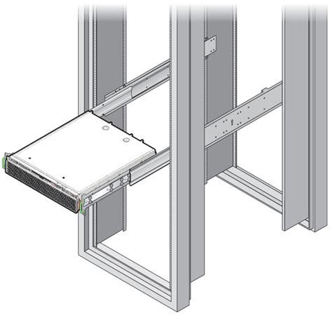 Server Rack Slides by Install The Server 19 Inch 4 Post Sliding Rail Rackmount