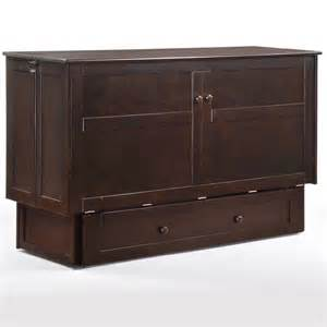 Furniture In The Raw Murphy Beds Clover Cabinet Bed Free Shipping