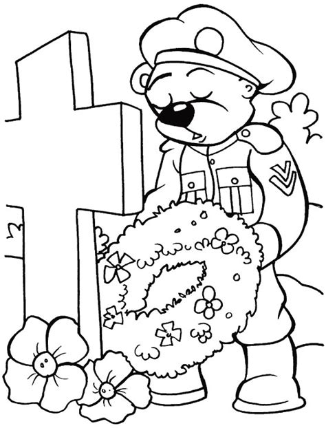 printable coloring pages remembrance day remembering you forever coloring page download free