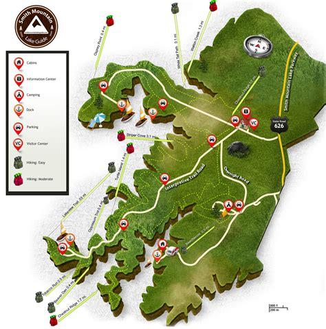 smith mountain lake map sm map