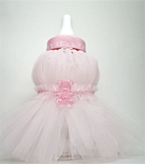 baby bottle centerpieces baby shower pink baby bottle shower centerpiece tutu baby bottle shower
