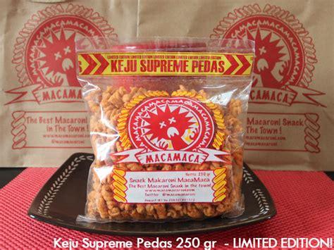 Macamaca Makaroni our product maca maca cemilan makaroni macamaca snack