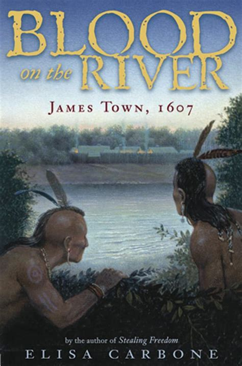 a small town story colonial virginia books junior library guild blood on the river town