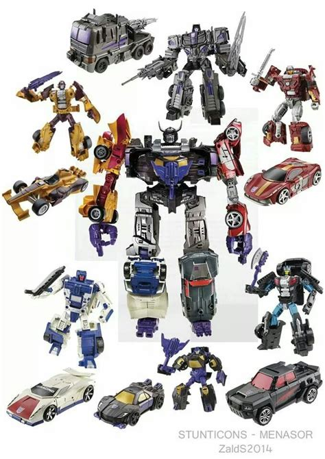Transforners Combine Android E combiner wars stunticons transformers figures