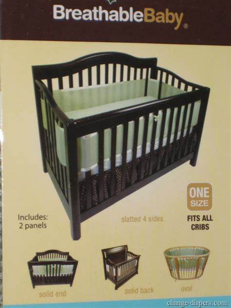 Alternatives To Cribs by Breathablebaby Breathable Mesh Crib Liner Bumper