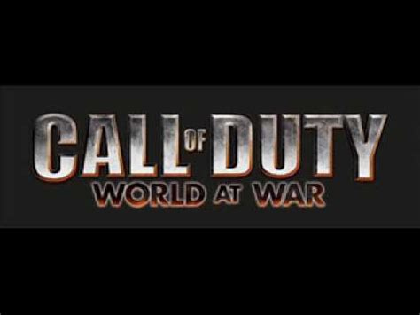 theme music world at war call of duty world at war theme song blues saraceno