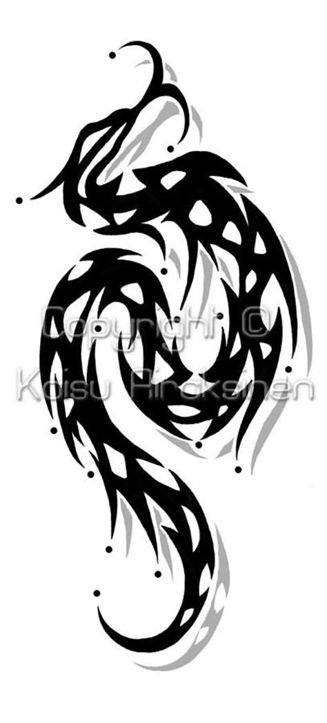tribal snake tattoos tribal snake idea