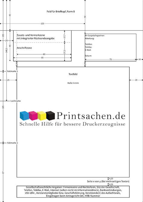 Standard Briefvorlage Briefpapier Nach Din Norm 5008 Erstellen Printsachen De