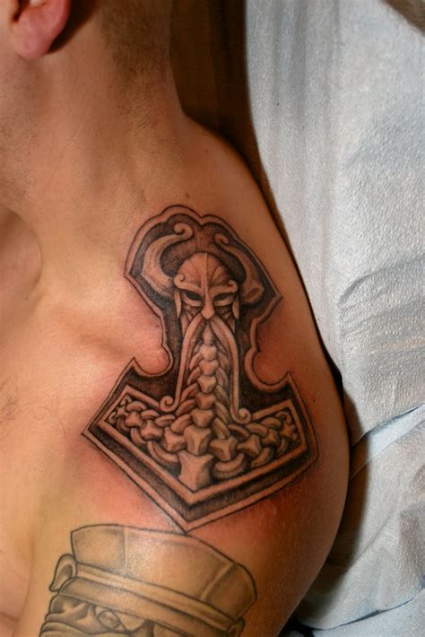 thors hammer tattoo tattoos by trerrotola thor s hammer