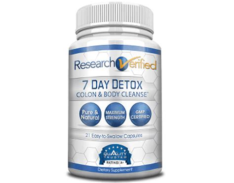 Detox Cleanse Products Reviews by Research Verified 7 Day Detox Review Does This Product