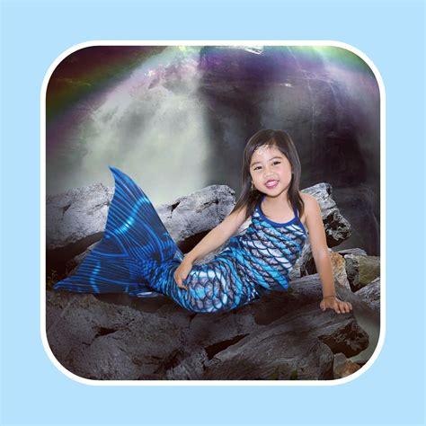 Baju Anak Baju Renang Mermaid Size S10 15 Kg Kostum Anak 1 detail dan harga baju putri duyung blue rubber toko