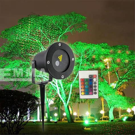 elf light christmas lights projector outdoor laser green