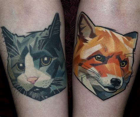 new school cat tattoo awesome cat images part 8 tattooimages biz