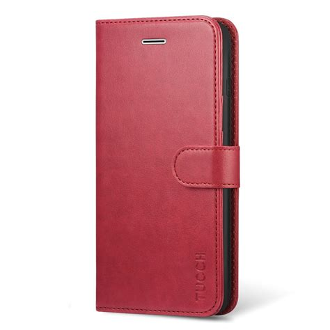 tucch iphone 8 plus iphone 7 plus wallet pu leather magnetic closure