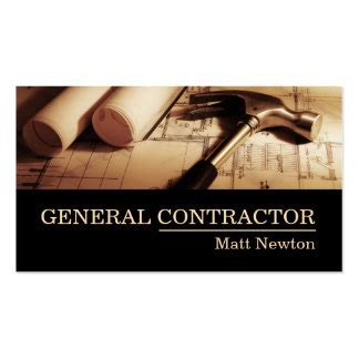 business card templates general contractors general contractor business cards templates zazzle