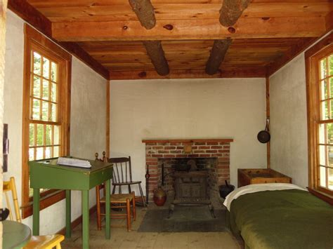 Walden Pond Cabin by Thoreau S Cabin Replica In Walden Pond By Sivouscroyez On