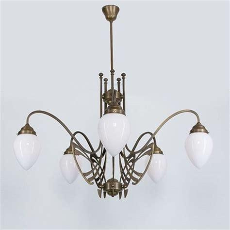 Kronleuchter Deco by Victor Horta Chandelier Elegance