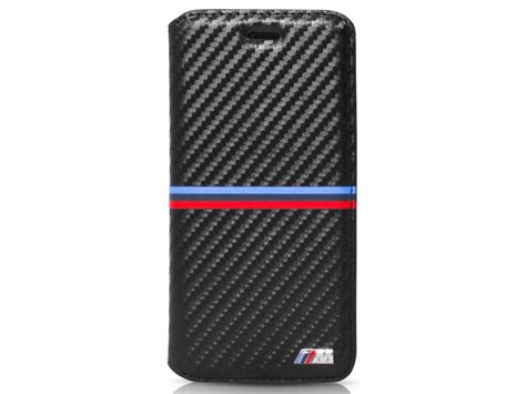 bmw m stripes bookcase iphone 6 6s hoesje