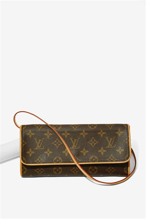 lyst louis vuitton vintage monogram pochette twin gm bag