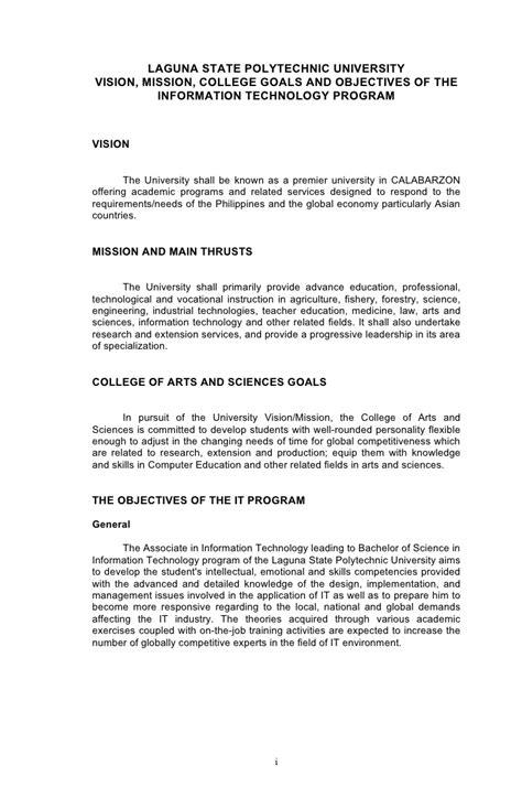 Narrative Report Acknowledgement Letter It Narrative Report Part1
