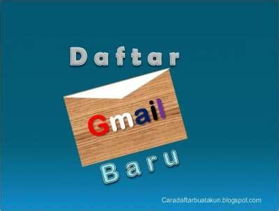 daftar email gmail  hp android  laptop cdba