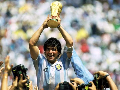quotes on diego maradona grass white posts