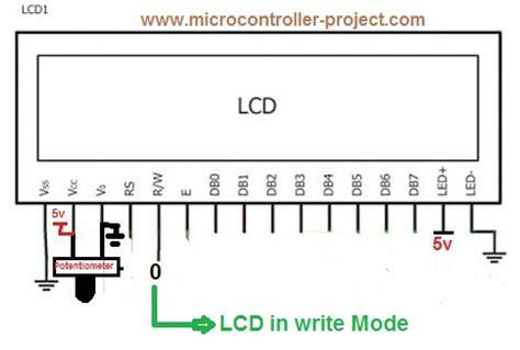 16x2 lcd pin diagram block diagram 16x2 lcd wiring diagram