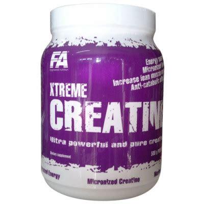 creatine 9 xtreme fa nutrition xtreme creatine cena najtaniej w sklepie