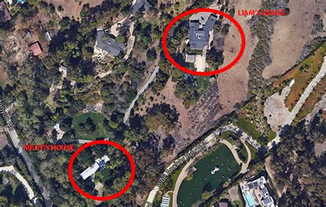 liam hemsworth house miley cyrus moves closer to liam hemsworth