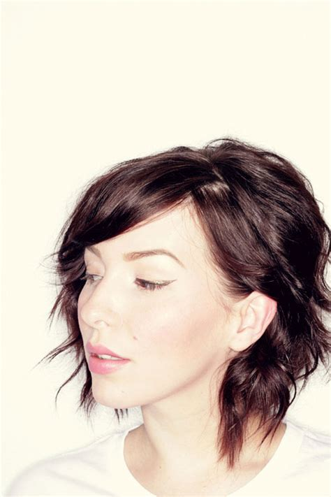 how to curl a long bob with no heat how to curl short bob hairstyle no heat