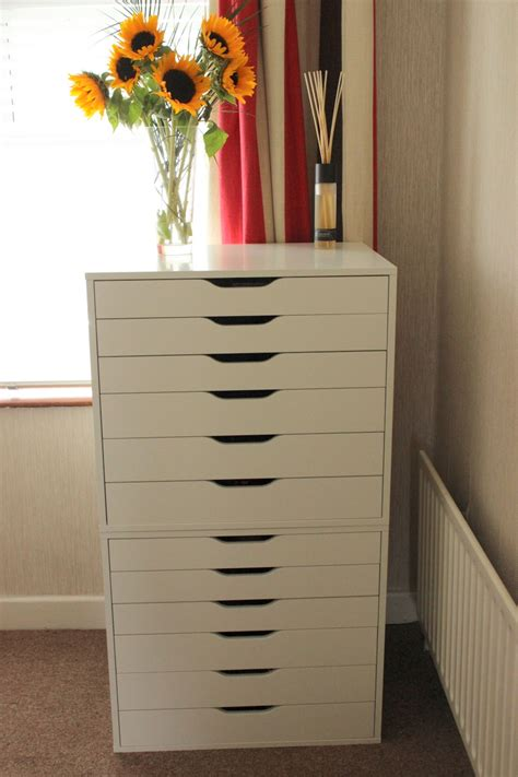 ikea makeup storage my new make up storage lovely girlie bits best irish