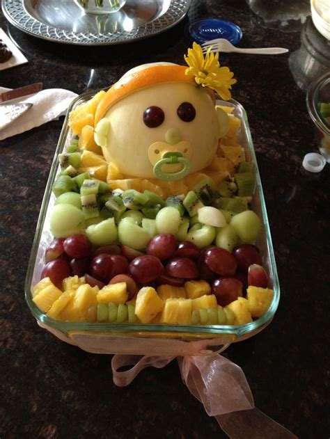 Fruit Ideas For A Baby Shower by Baby Shower Fruit Bowl Food Novelty