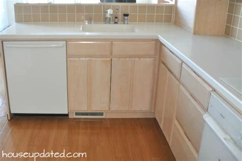 bleached wood kitchen cabinets painting archives house updated