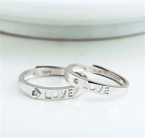 S925 Silver Ring quot quot s925 sterling silver opening rings