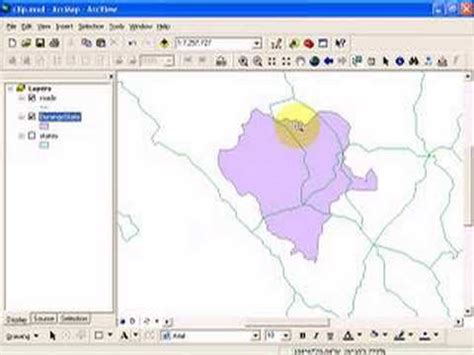 arcgis tutorial data for desktop gis clip analysis using arcgis desktop youtube