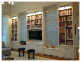bookshelves living room at the ncstate chancellor s house