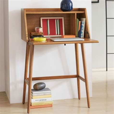 elm mid century mini desk 11 best desks for small spaces in 2018 modern
